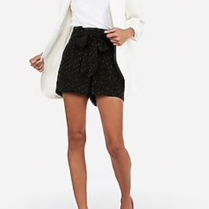Express high waisted shorts size 10 NWT